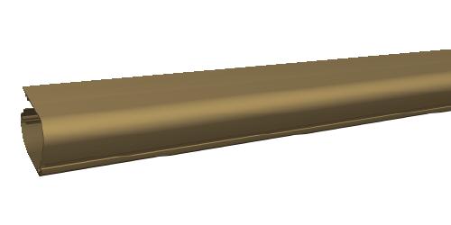 Zanzariera Bazar, colore bronzo cassonetto (cod. X2 )